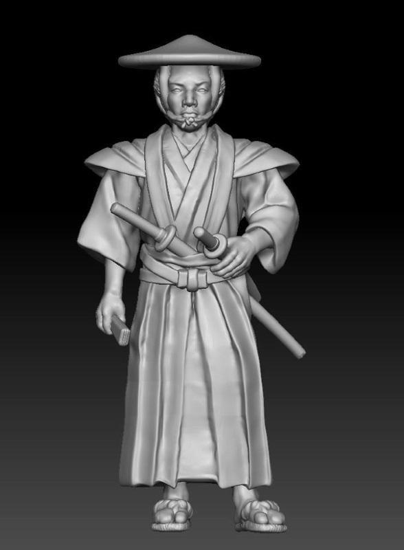 Japanisches Strassenleben der Edo Epoche im Maßstab 1:72 417
