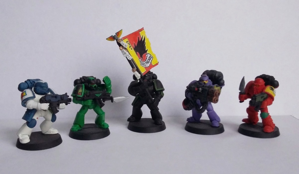 Figurines warhammer Space Marine Hachette 20191114