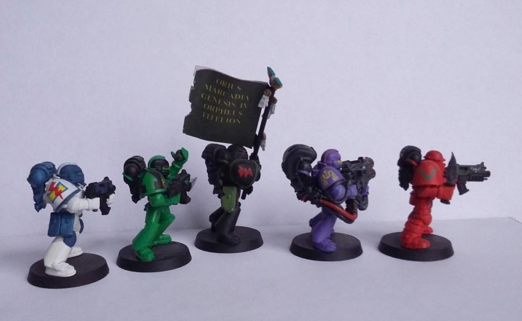 Figurines warhammer Space Marine Hachette 20191115