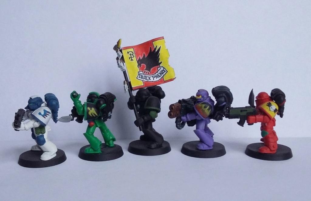 Figurines warhammer Space Marine Hachette 20191116