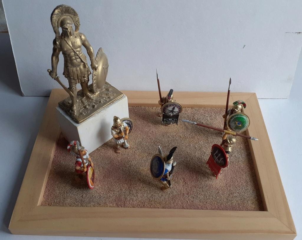 Gloire à LEONIDAS (figurines Victrix 40mm et EK Casting 70mm) 20200812