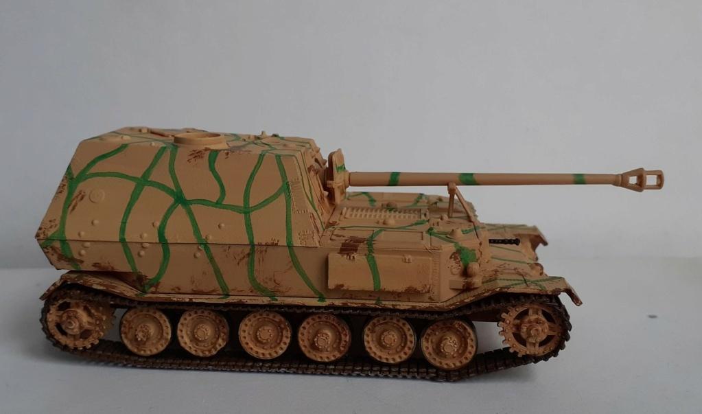 "From the box - German tank ""elephant"" esci 1/72 *** Terminé en pg 4 - Page 3 20201213"