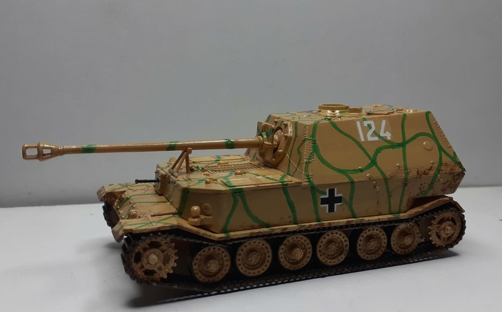 "From the box - German tank ""elephant"" esci 1/72 *** Terminé en pg 4 - Page 3 20201217"