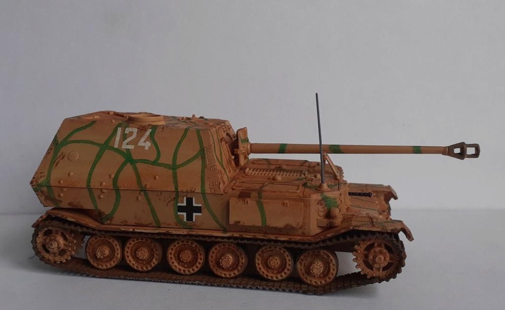 "From the box - German tank ""elephant"" esci 1/72 *** Terminé en pg 4 - Page 4 20201218"