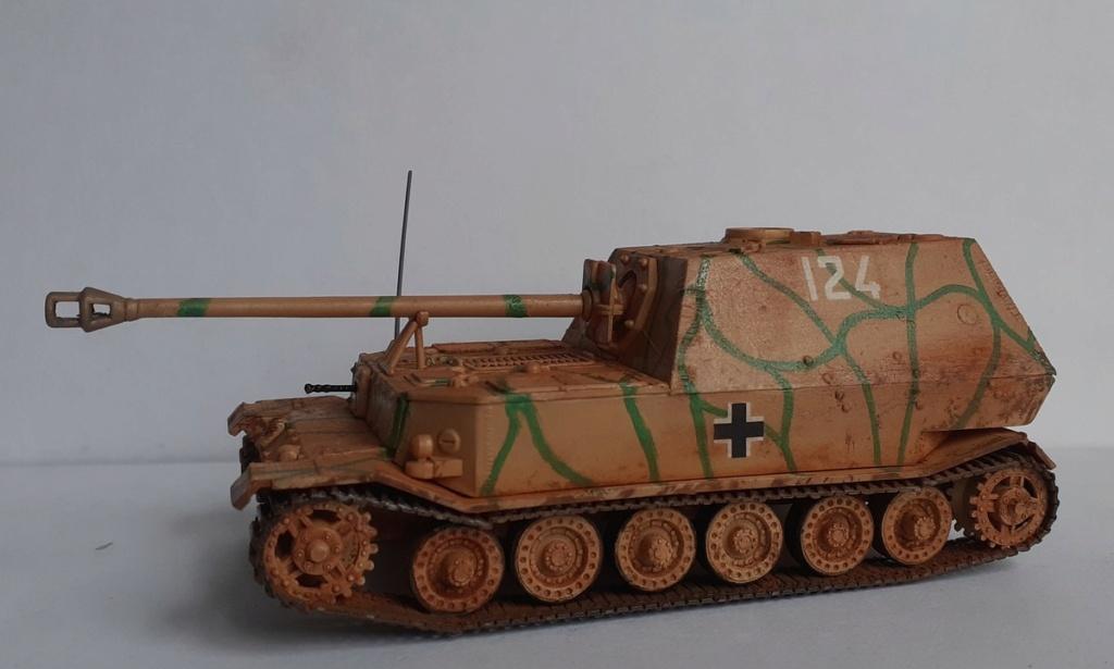 "From the box - German tank ""elephant"" esci 1/72 *** Terminé en pg 4 - Page 4 20201220"