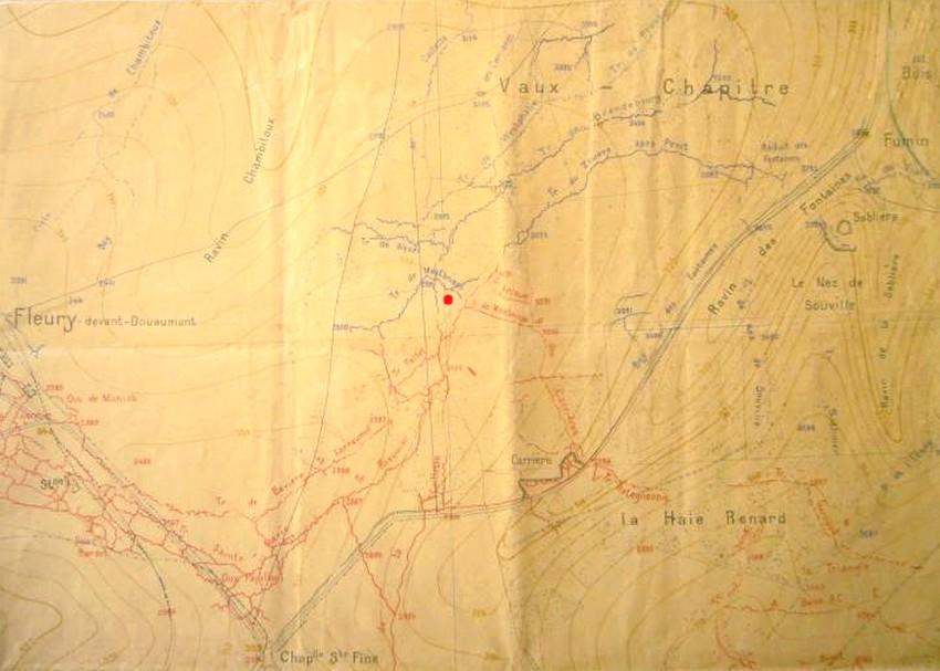Pas-à-pas, Verdun 1916- Relève à Vaux Chapitres (1/35) terminé (p7) - Page 2 Carte_10