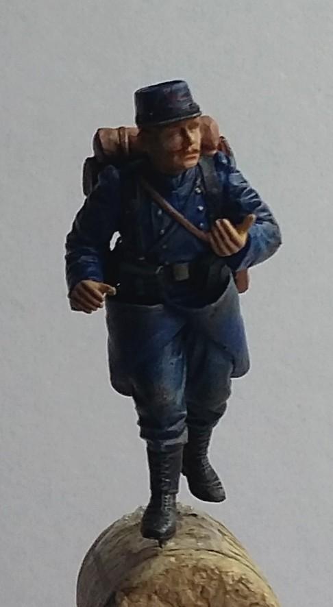 Chasseur à pied et infanterie coloniale-Bataille des frontières 1914 1/35 Dio_1817