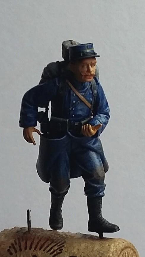 Chasseur à pied et infanterie coloniale-Bataille des frontières 1914 1/35 Dio_1915