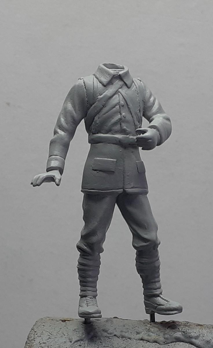pas à pas-chasseur cycliste-mobilisation générale 1914 (1/35) terminé (p 5) Dio_1d11