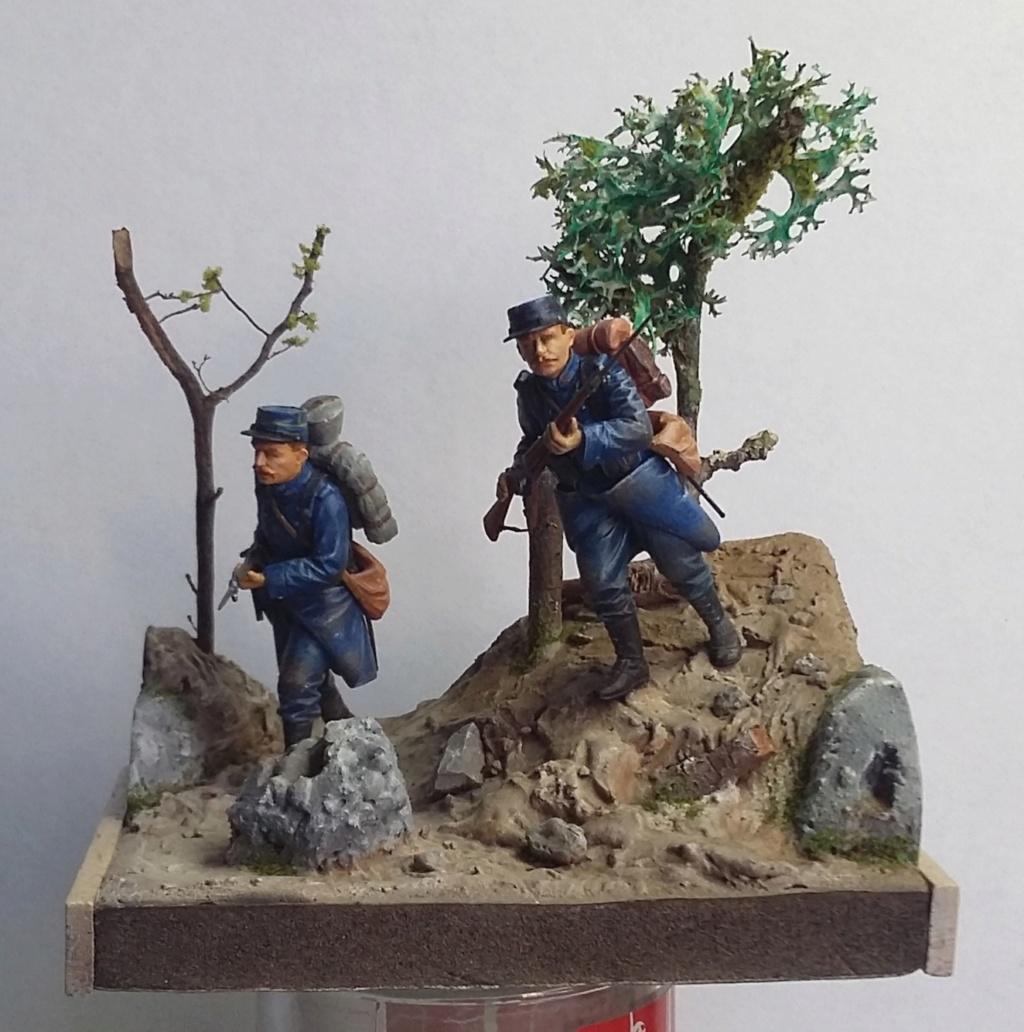 Chasseur à pied et infanterie coloniale-Bataille des frontières 1914 1/35 Dio_2012