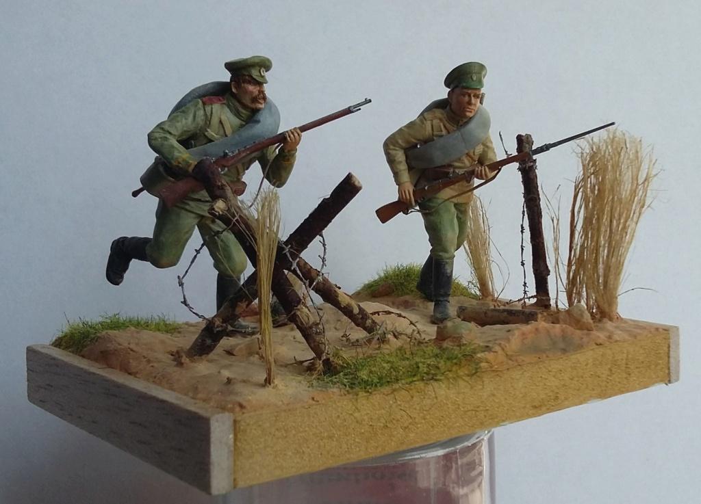 Infanterie de la Garde russe et infanterie russe-Tannenberg 1914 1/35 Dio_2013