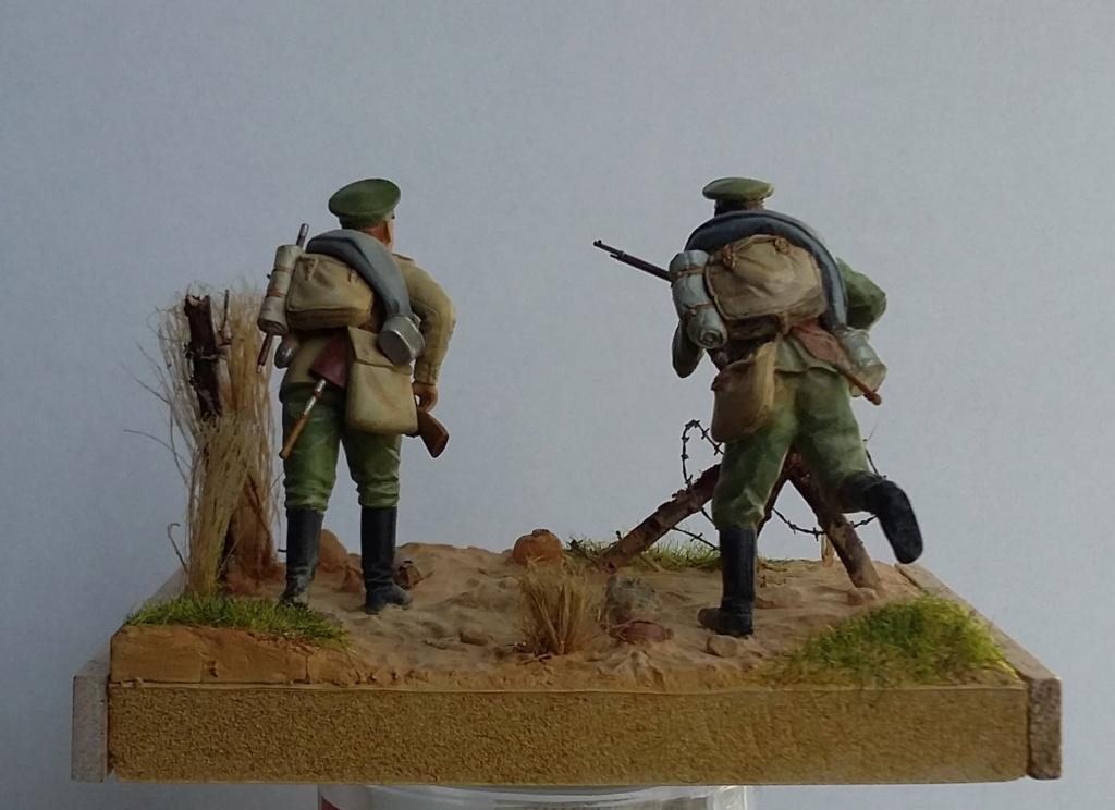 Infanterie de la Garde russe et infanterie russe-Tannenberg 1914 1/35 Dio_2214