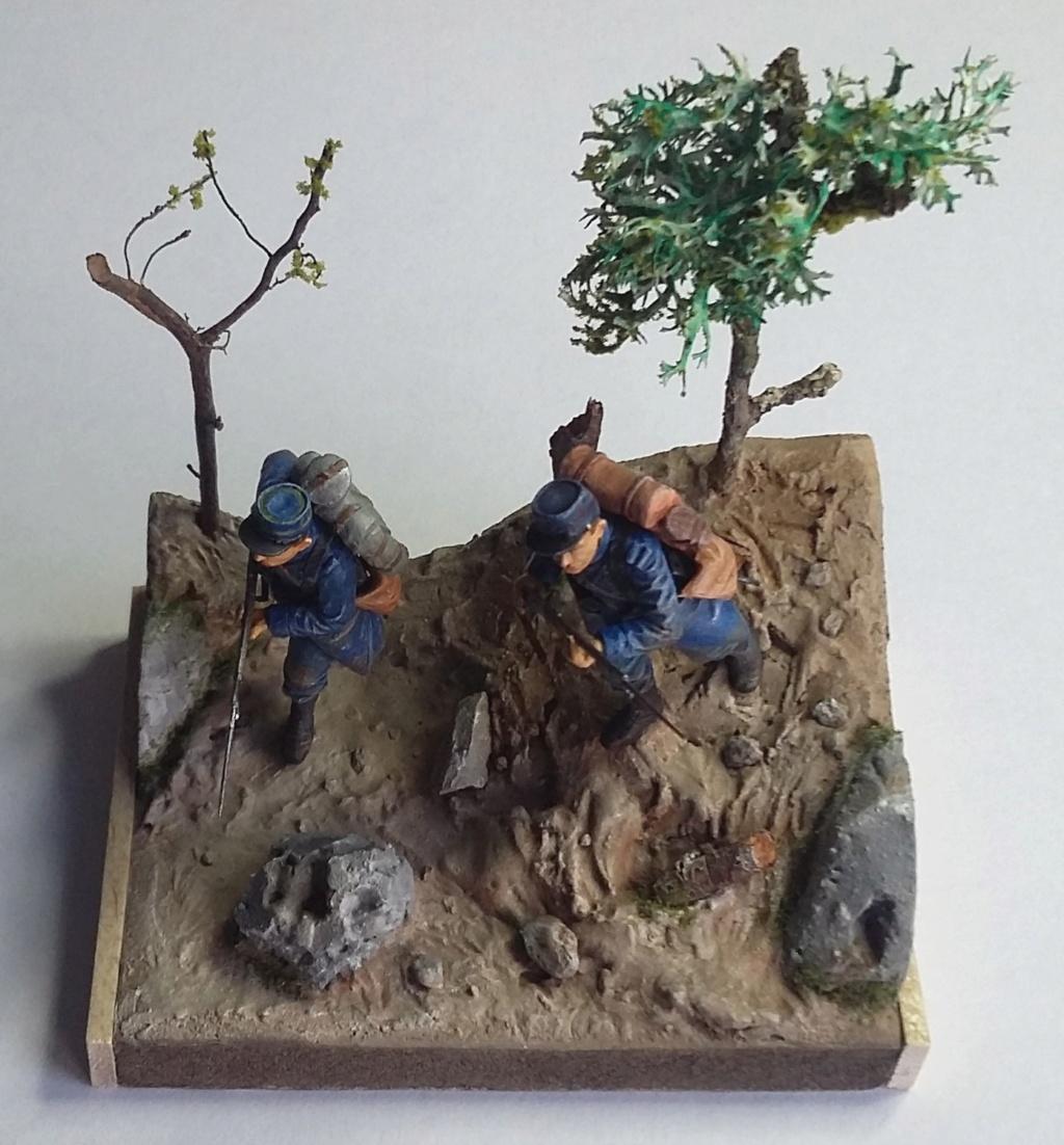 Chasseur à pied et infanterie coloniale-Bataille des frontières 1914 1/35 Dio_2312