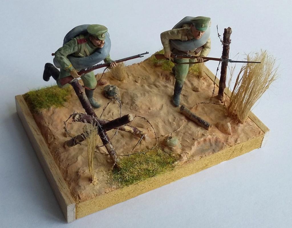 Infanterie de la Garde russe et infanterie russe-Tannenberg 1914 1/35 Dio_2313