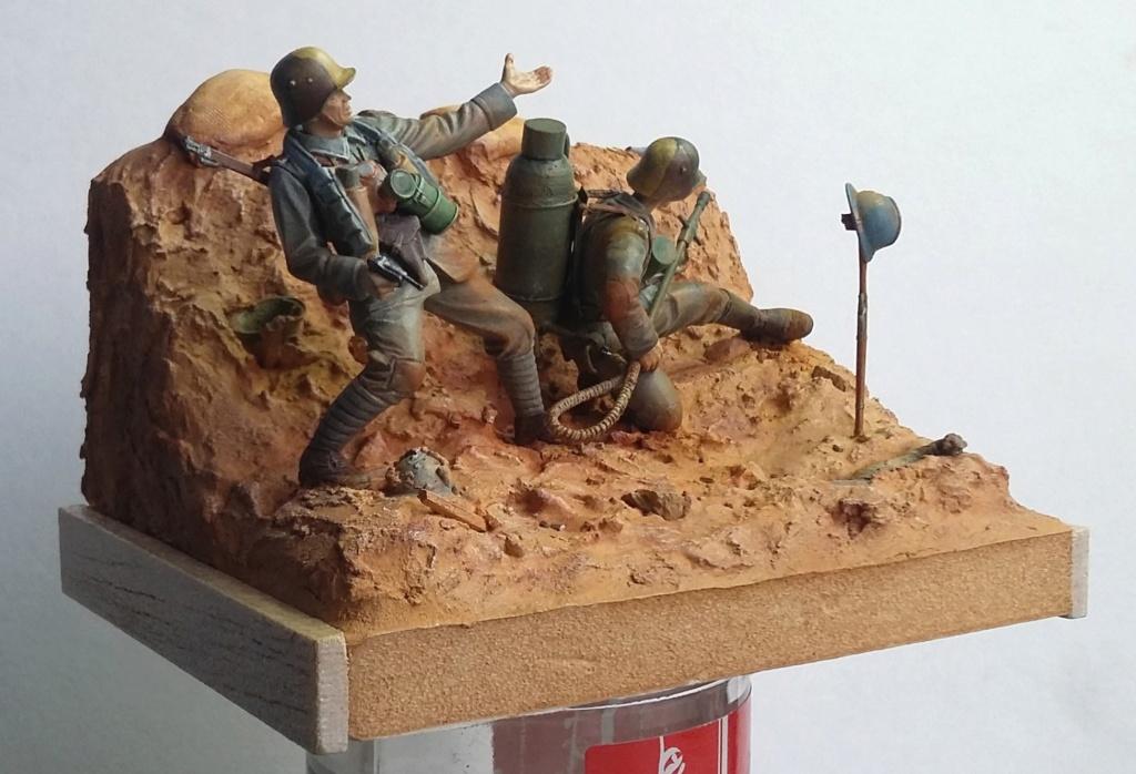 Pionniers allemands-Amiens 1918 1/35 Dio_2411
