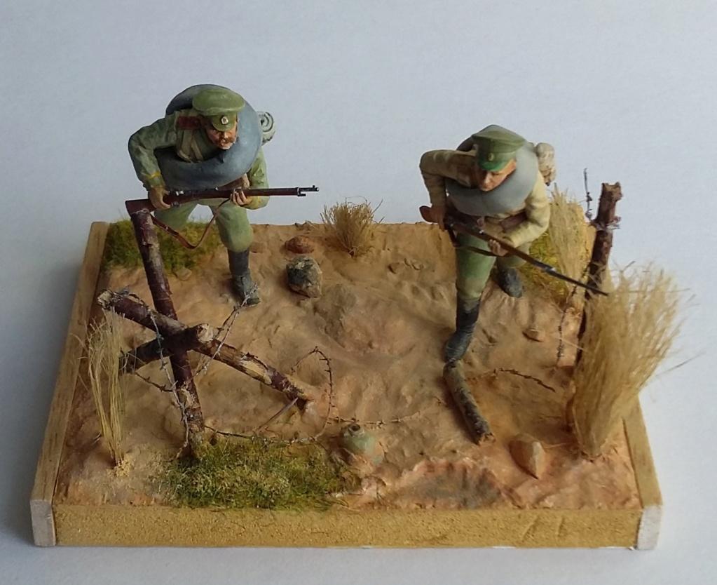 Infanterie de la Garde russe et infanterie russe-Tannenberg 1914 1/35 Dio_2412