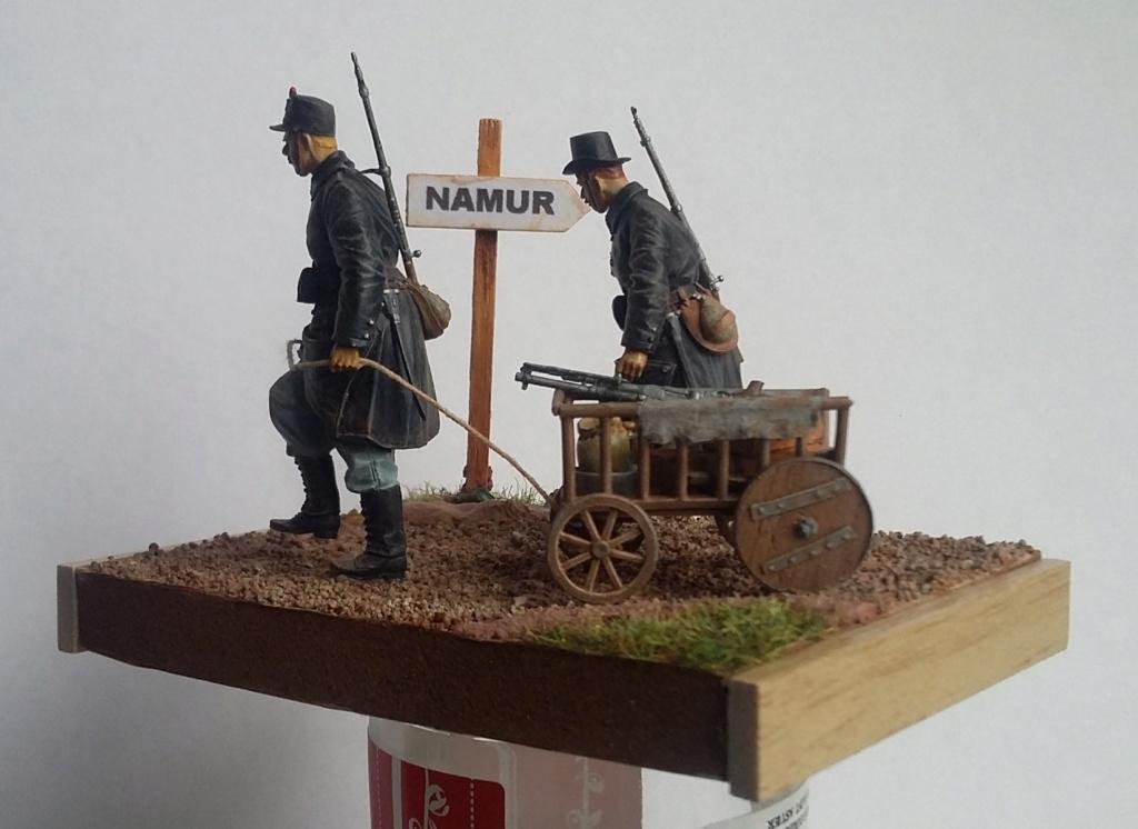Fantassins belges-Retraite de Namur 1914 1/35 Dio_2413