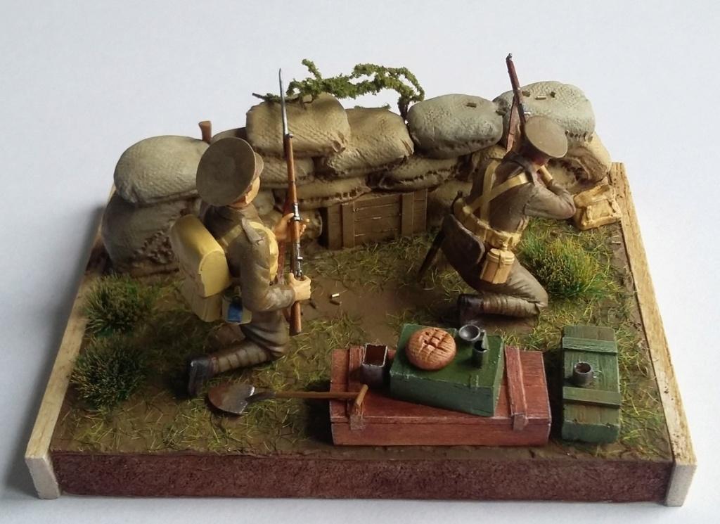 Infanterie britannique-Mons 1914 (1/35) Dio_2616