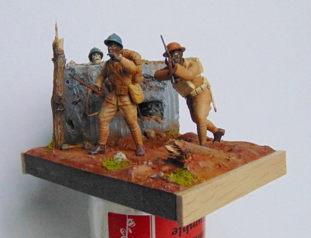 Infanterie afro-américaine- Meuse-Argonne 1918 (1/35) Dio_3314