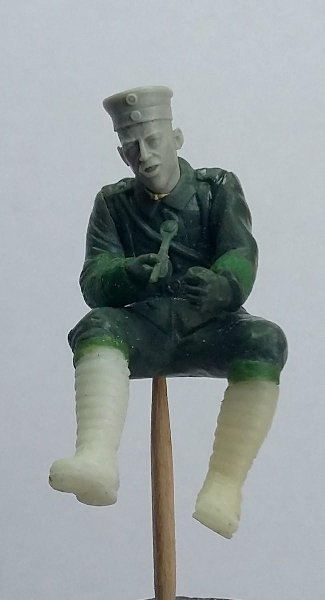 Gulaschkanone allemand-Aisne à l'arrière 1917 (1/35) ajout photo sépia (P2) Dio_5a10