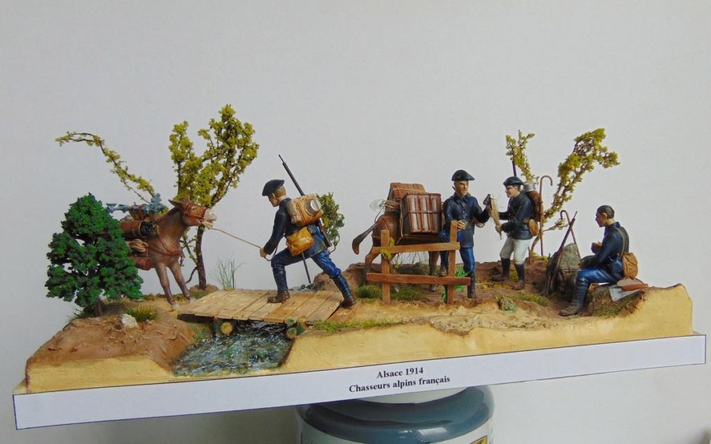 Pas à pas. Chasseurs alpins-Alsace 1914 (1/35) terminé !!! - Page 2 Dio_6610