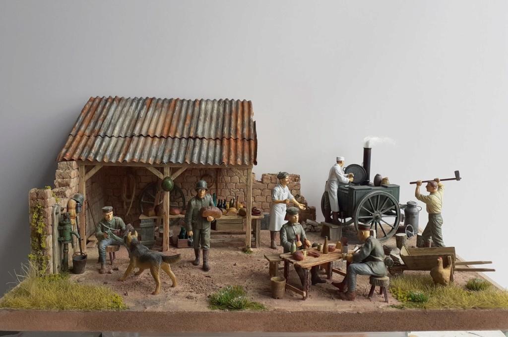 Gulaschkanone allemand-Aisne à l'arrière 1917 (1/35) ajout photo sépia (P2) Dio_7910
