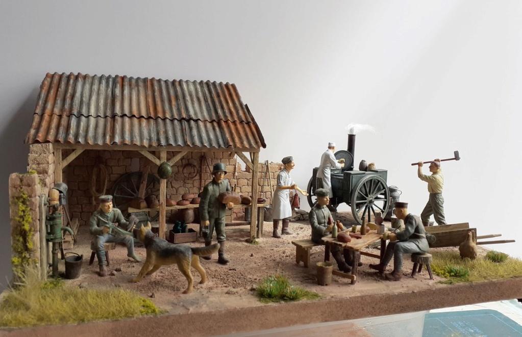 Gulaschkanone allemand-Aisne à l'arrière 1917 (1/35) ajout photo sépia (P2) Dio_8110