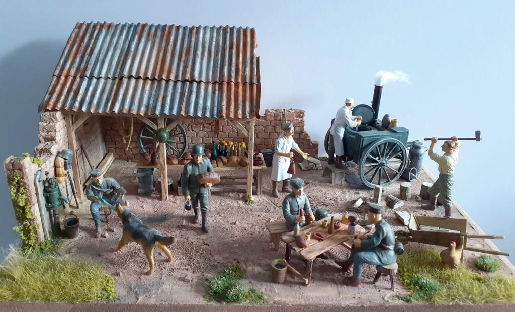 Gulaschkanone allemand-Aisne à l'arrière 1917 (1/35) ajout photo sépia (P2) Dio_8810