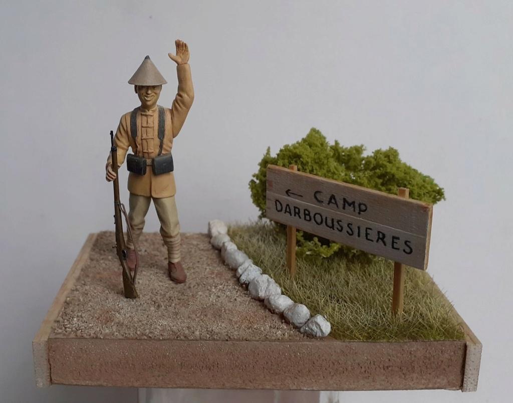 Tirailleur indochinois-camp de Fréjus Saint Raphael 1916 (1/35) Dio_921