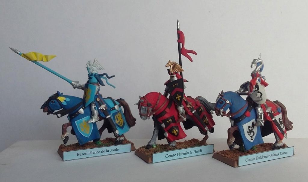 """Chevalier Bretonnien """"warhammer"""" Warham10"""