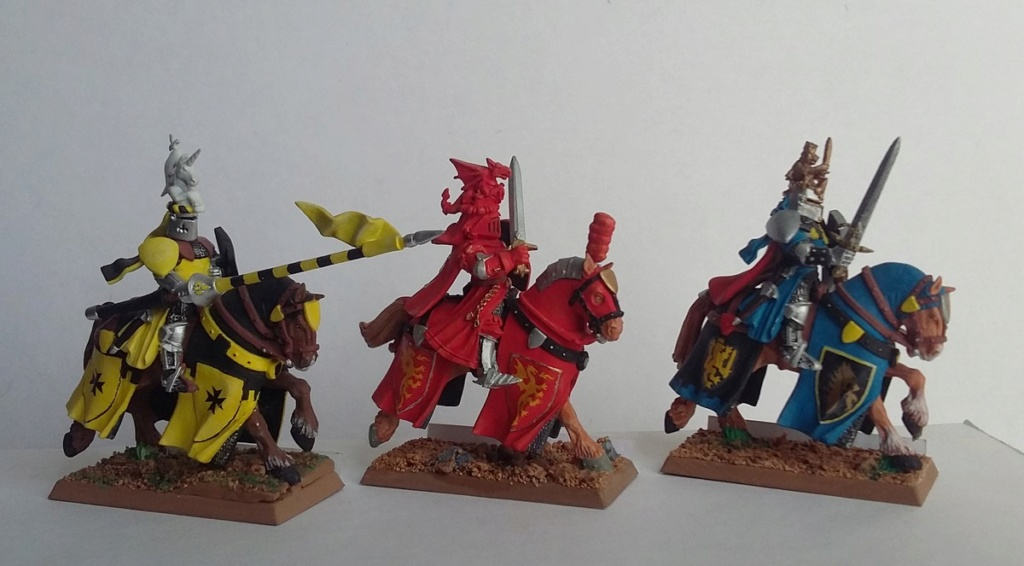 """Chevalier Bretonnien """"warhammer"""" Warham13"""