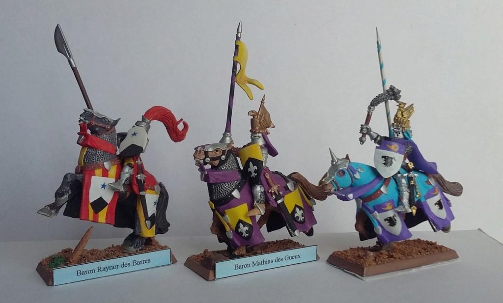 """Chevalier Bretonnien """"warhammer"""" Warham14"""