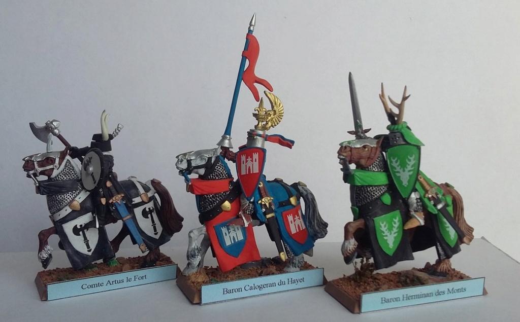 """Chevalier Bretonnien """"warhammer"""" Warham16"""