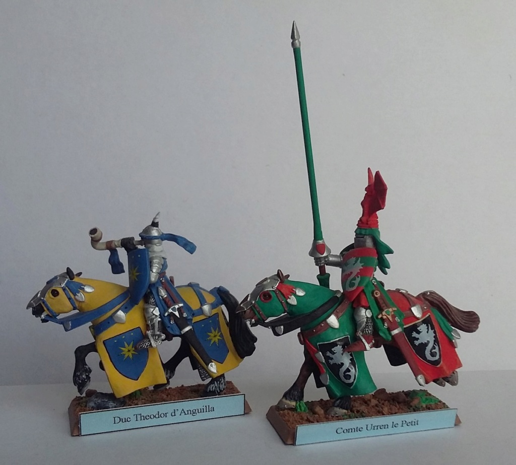 """Chevalier Bretonnien """"warhammer"""" Warham18"""