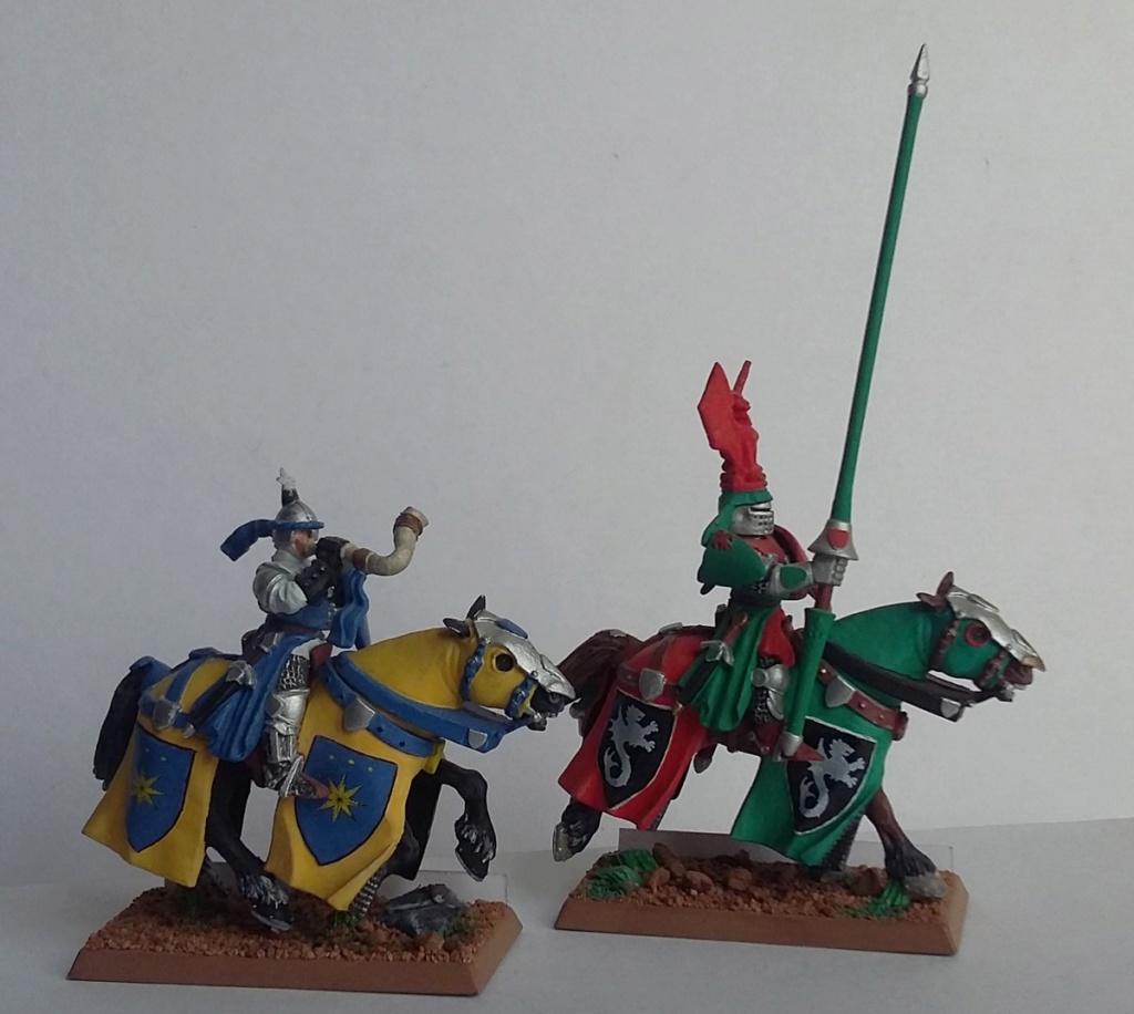 """Chevalier Bretonnien """"warhammer"""" Warham19"""