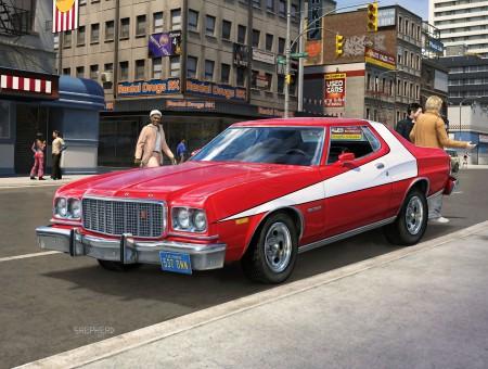 Ford Gran Torino 1976 - Starsky et Hutch - Revell 1/25 07038_10