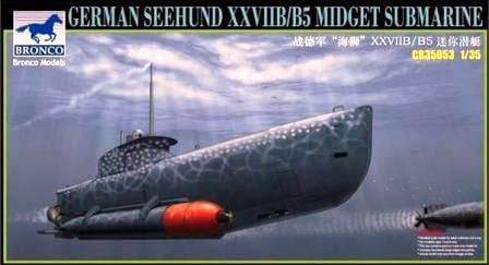 "Diorama sous-marin de poche ""Seehund"" - Bronco - 1/35 13768010"