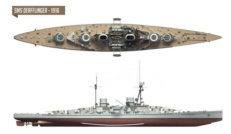 SMS Derfflinger, 1/700, Flyhawk, concours fighters 37758210