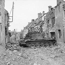 Tiger 1 de Michael Wittmann à Villers Bocage - 1944 - diorama tamiya 1/35 Cromwe10