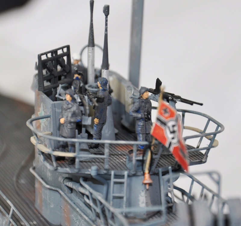 U-boot typ IX C/40 (U-190) Revell 1/72 - Page 2 Dsc_0023