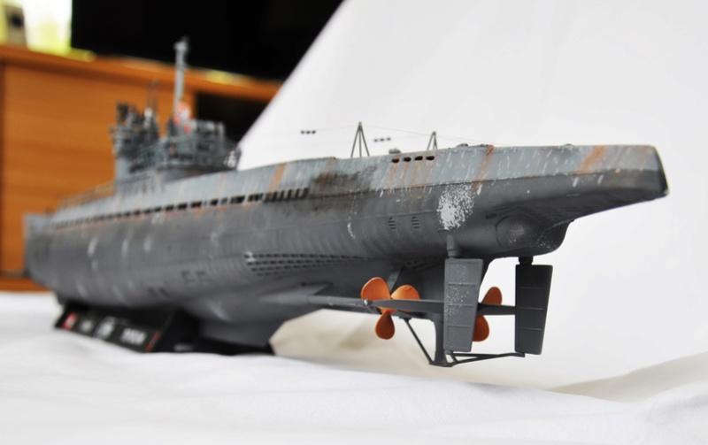U-boot typ IX C/40 (U-190) Revell 1/72 - Page 2 Dsc_0024