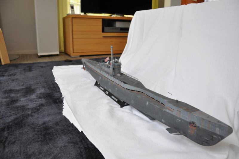 U-boot typ IX C/40 (U-190) Revell 1/72 - Page 4 Dsc_0029