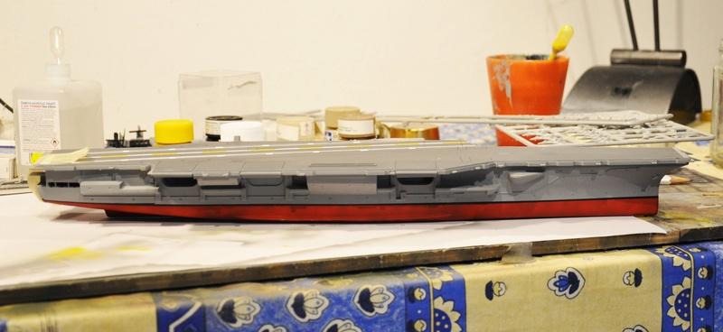 Diorama USS Saratoga - Italeri 1/720 Dsc_0100