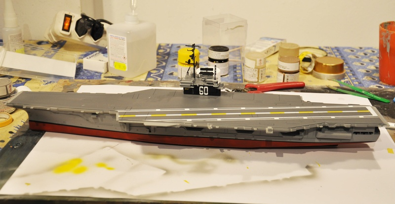 Diorama USS Saratoga - Italeri 1/720 Dsc_0102