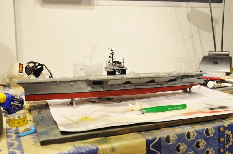 Diorama USS Saratoga - Italeri 1/720 Dsc_0111
