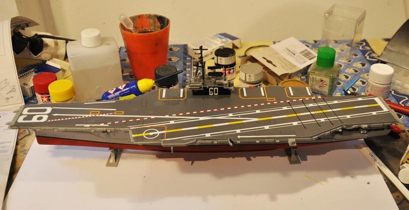 Diorama USS Saratoga - Italeri 1/720 Dsc_0112