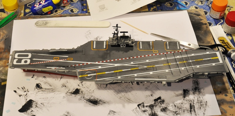 Diorama USS Saratoga - Italeri 1/720 Dsc_0132