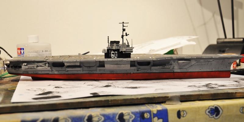 Diorama USS Saratoga - Italeri 1/720 Dsc_0137
