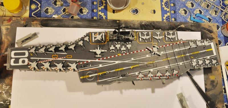 Diorama USS Saratoga - Italeri 1/720 Dsc_0141