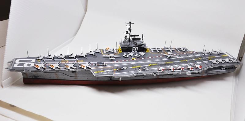 Diorama USS Saratoga - Italeri 1/720 Dsc_0142